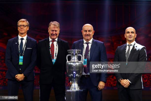 Markku Kanerva Head Coach of Finland Age Hareide Head Coach of Denmark Stanislav Cherchesov Head Coach of Russia and Roberto Martinez Head Coach of...
