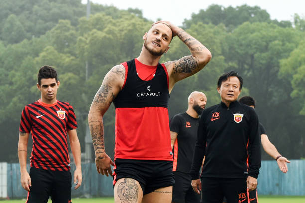 Shanghai SIPG Training Session