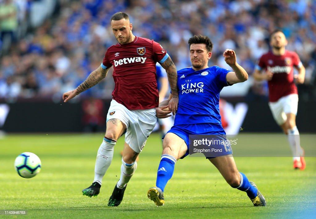 West Ham United v Leicester City - Premier League : Foto di attualità