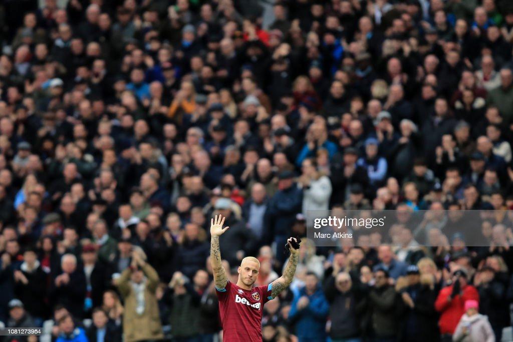 West Ham United v Arsenal FC - Premier League : Nachrichtenfoto