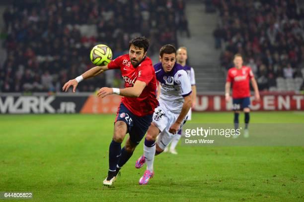 Marko BASA / Aleksandar PESIC Lille / Toulouse 18eme journee de Ligue1 Photo Dave Winter / Icon Sport
