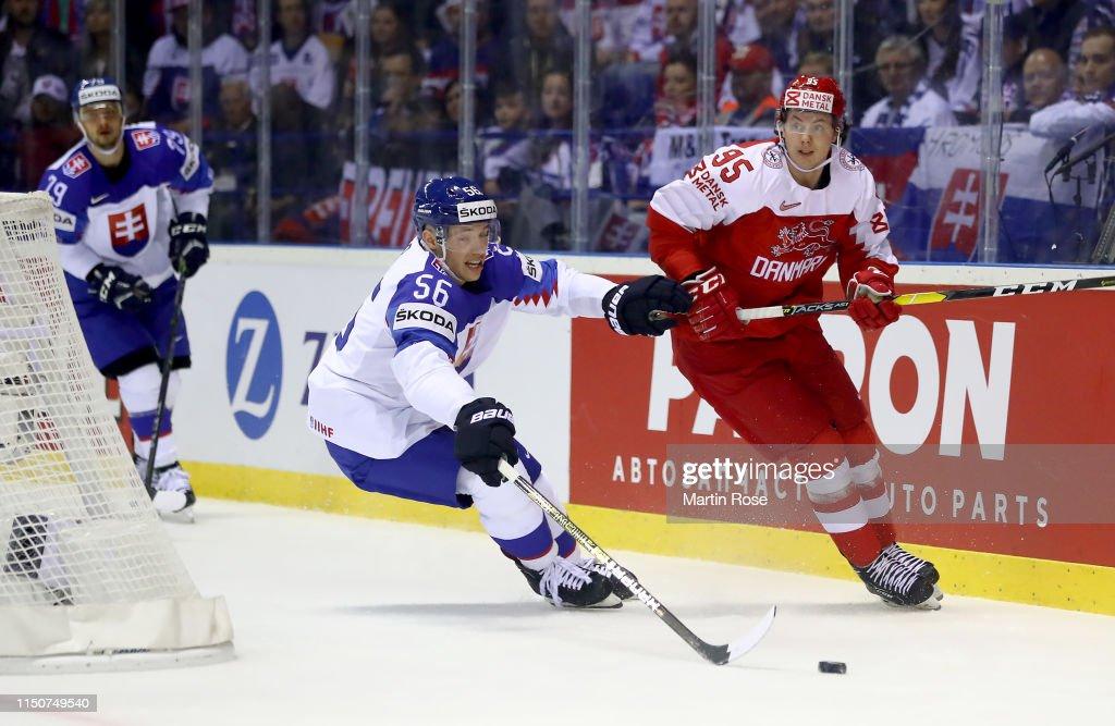 SVK: Slovakia v Denmark: Group A - 2019 IIHF Ice Hockey World Championship Slovakia