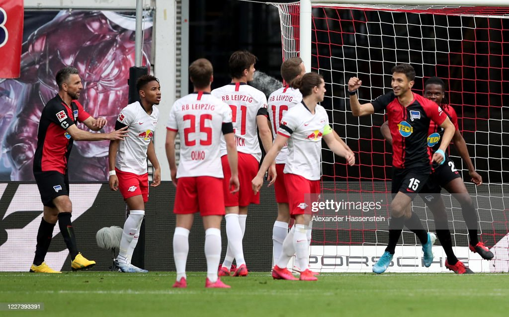 RB Leipzig v Hertha BSC - Bundesliga : ニュース写真