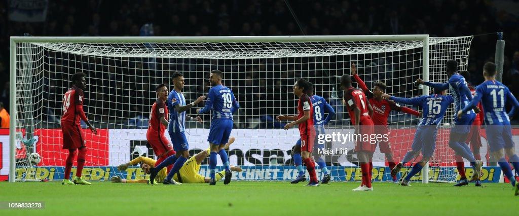 Hertha BSC v Eintracht Frankfurt - Bundesliga : Nachrichtenfoto