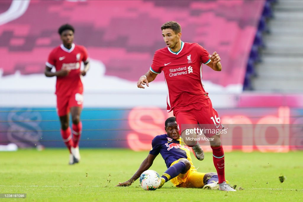 FC Red Bull Salzburg v FC Liverpool - Friendly Match : News Photo