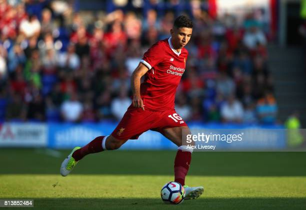 Marko Grujic of Liverpool during a preseason friendly match between Tranmere Rovers and Liverpool at Prenton Park on July 12 2017 in Birkenhead...