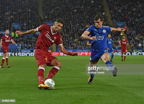 Marko Grujic of Liverpool during the Carabao Cup third round match between Leicester City and Liverpool at The King Power Stadium on September 19...
