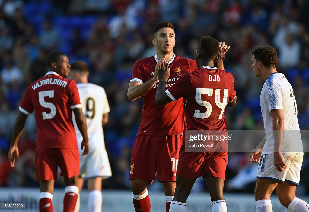 Tranmere Rovers v Liverpool - Pre Season Friendly : News Photo