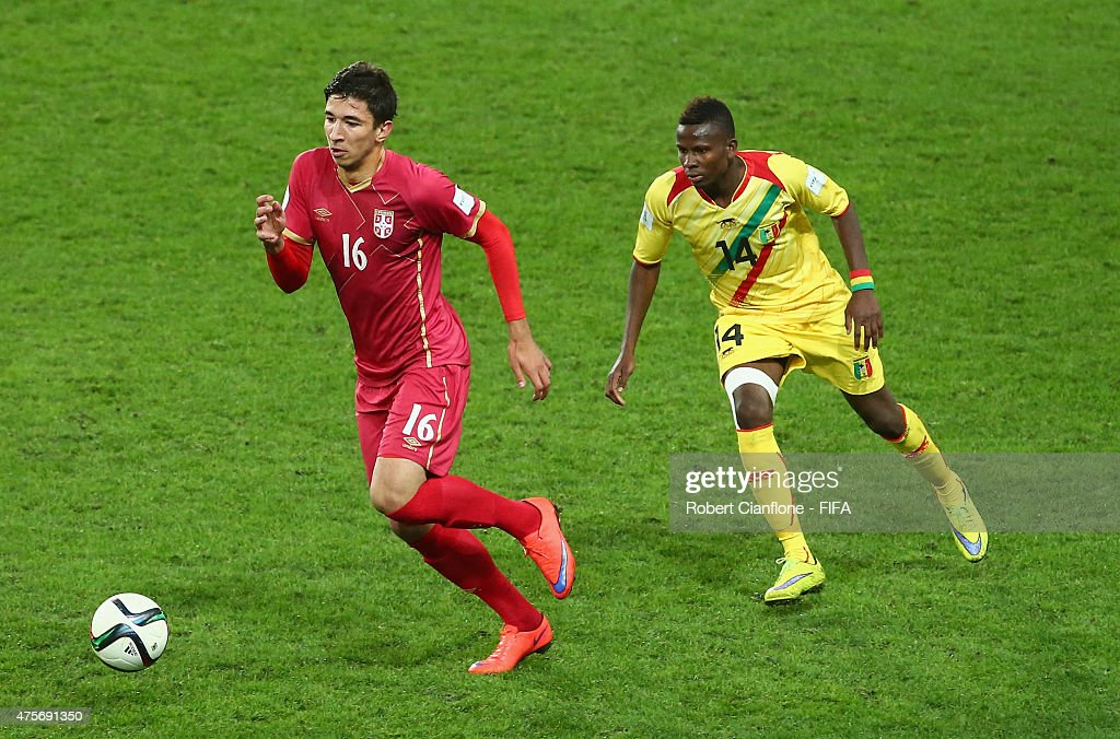 Serbia v Mali: Group D - FIFA U-20 World Cup New Zealand 2015 : News Photo