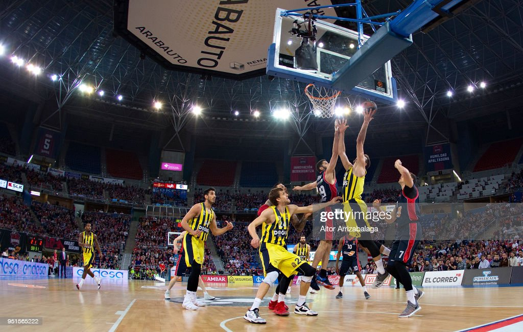 Kirolbet Baskonia Vitoria Gasteiz v Fenerbahce Dogus Istanbul - Turkish Airlines Euroleague Play off Game Four