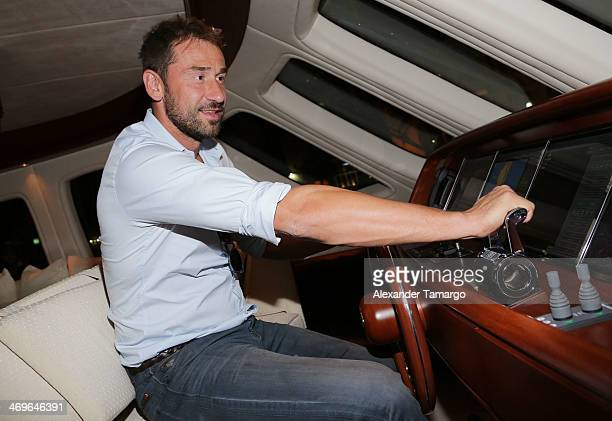 Marko Jaric attends a party hosted by Zeelander Yachts welcoming the Zeelander Z68 during the Miami International Boat Show on February 15 2014 in...