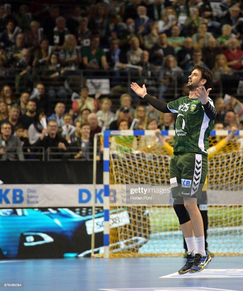 Fuechse Berlin v HSG Wetzlar - DKB Handball Bundesliga