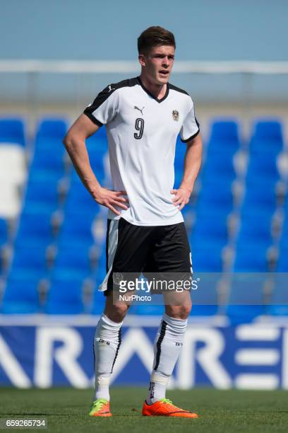 Marko Kvasina during the friendly match of national teams U21 of Austria vs The Netherlands in Pinatar Arena Murcia SPAIN March 27th 2017