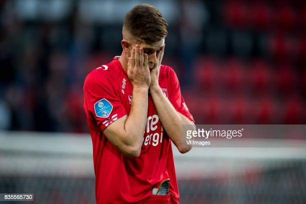 Marko Kvasina of FC Twente during the Dutch Eredivisie match between FC Twente and VVV Venlo at the Grolsch Veste on August 19 2017 in Enschede The...