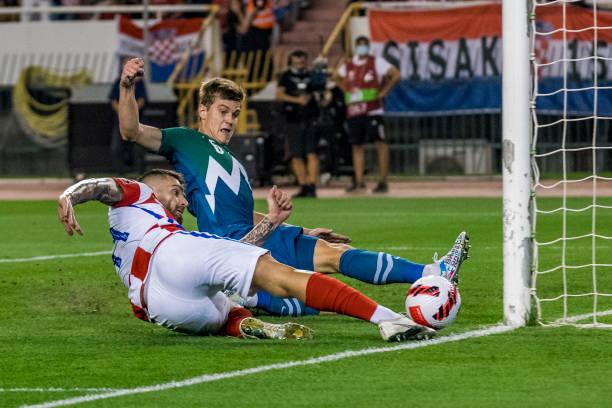 HRV: Croatia v Slovenia - 2022 FIFA World Cup Qualifier