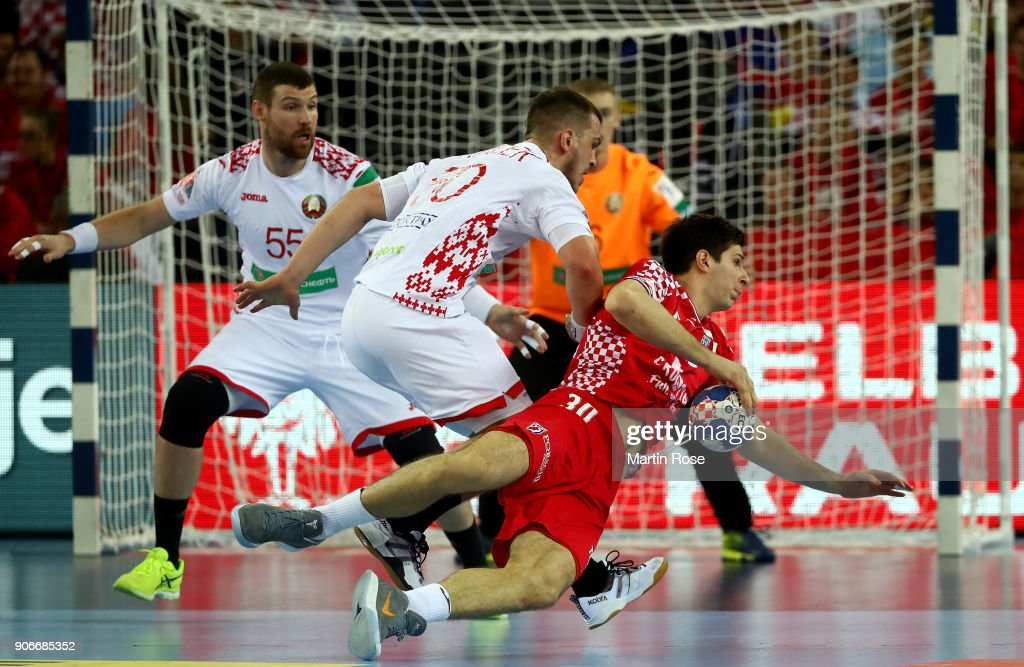 Croatia v Belarus - EHF Euro Croatia 2018