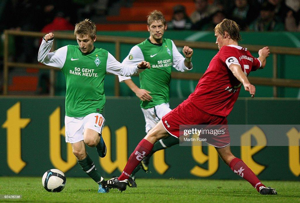 Werder Bremen v 1. FC Kaiserslautern - DFB Cup