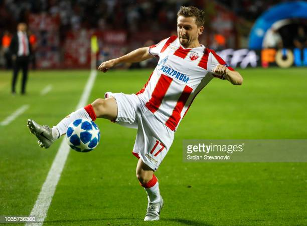 Marko Marin of Crvena Zvezda in action during the Group C match of the UEFA Champions League between Crvena Zvezda Belgrade and SSC Napoli at Rajko...