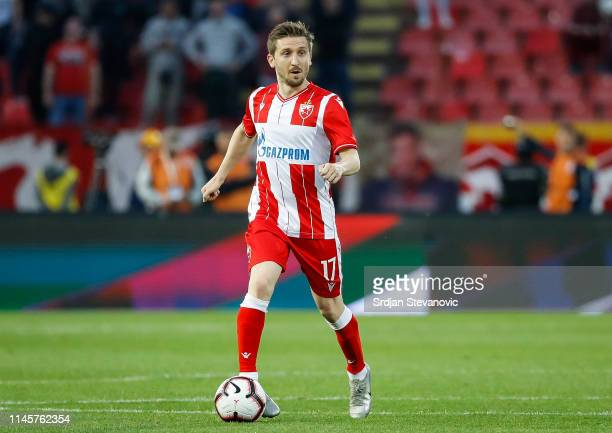 Marko Marin of Crvena Zvezda in action during the Serbian Cup Final match between FK Crvena Zvezda and FK Partizan at stadium Rajko Mitic on May 23...