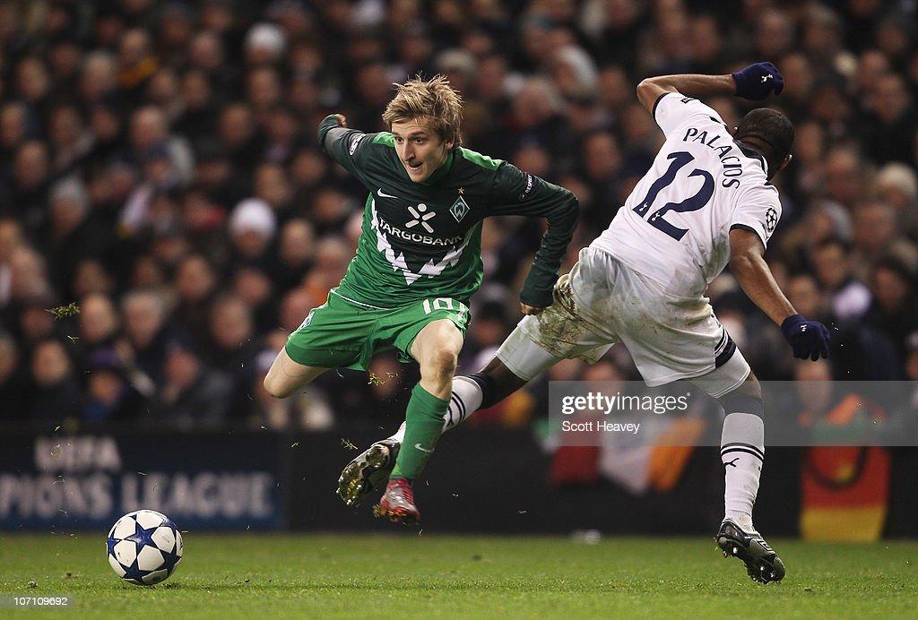 Tottenham Hotspur v SV Werder Bremen - UEFA Champions League