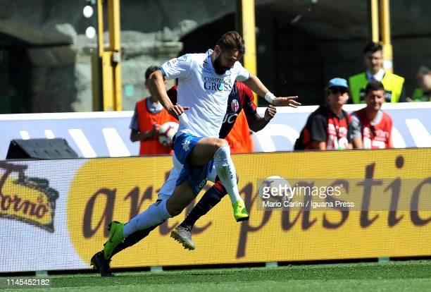 Marko Pajac of Empoli in action during the Serie A match between Bologna FC and Empoli at Stadio Renato Dall'Ara on April 27 2019 in Bologna Italy