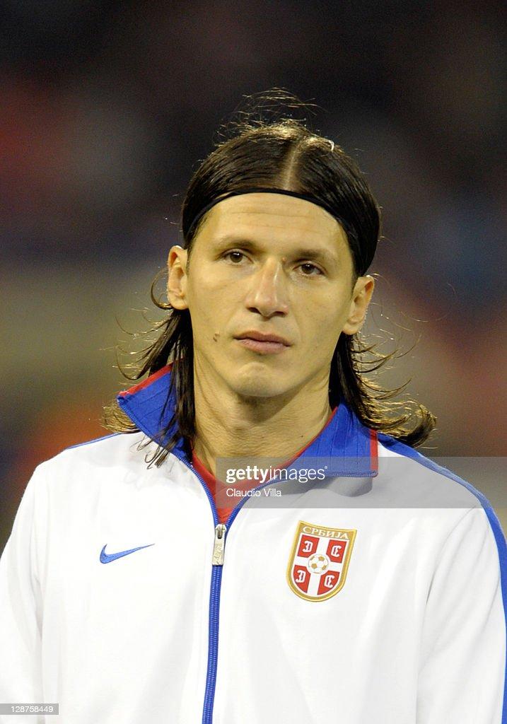 Serbia v Italy - EURO 2012 Qualifier