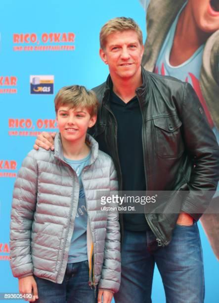 Marko Rehmer mit Sohn Jannik 'Rico Oscar und der Diebstahlstein' im Kino ZooPalast in Berlin Datum