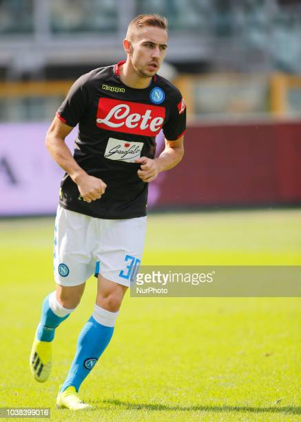 Marko Rog during Serie A match between Torino v Napoli in Turin on September 23 2018