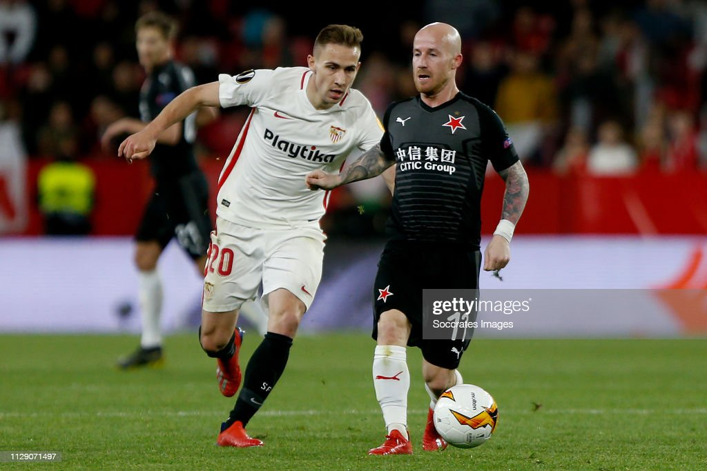 Sevilla v Slavia Prague - UEFA Europa League : News Photo