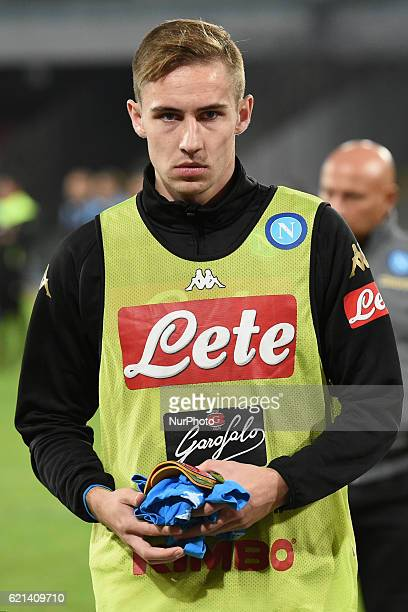 Marko Rog of SSC Napoli during the Serie A Tim match between SSC Napoli and SS Lazio at Stadio San Paolo Naples Italy on 5 November 2016