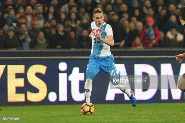 Marko Rog of SSC Napoli during the Serie A TIM match between SSC Napoli and Genoa CFC at Stadio San Paolo Naples Italy on 10 February 2017