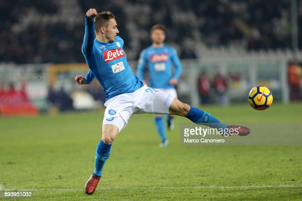 Marko Rog of Ssc Napoli in action during the Serie A football match between Torino Fc and Ssc Napoli Ssc Napoli wins 31 over Torino Fc