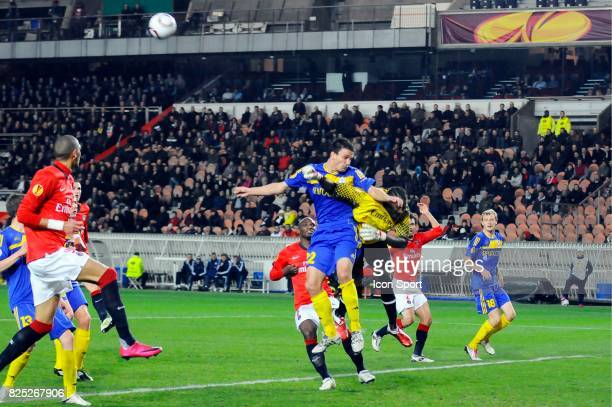 Marko SIMIC / Apoula EDEL PSG / BATE Borisov 1/16 de finale retour de Ligue Europa