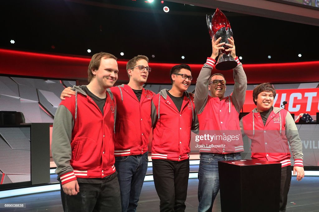 League of Legends College Championship : News Photo