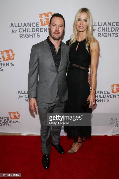 MarkPaul Gosselaar and Catriona Gosselaar attend The Alliance For Children's Rights 28th Annual Dinner at The Beverly Hilton Hotel on March 05 2020...