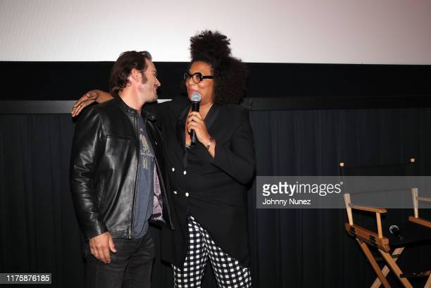 "Mark-Paul Gosselaar and Julee Wilson appear onstage at the ""Mixed-ish"" New York Screening at Regal Battery Park Cinemas on September 19, 2019 in New..."