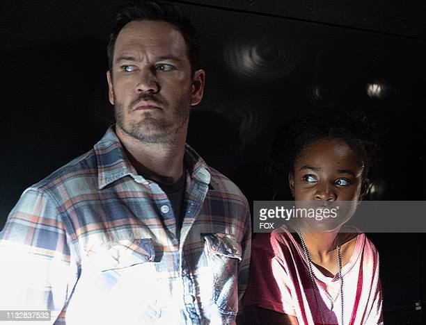 MarkPaul Gosselaar and Saniyya Sidney in the That Never Should Have Happened To You episode of THE PASSAGE airing Monday Jan 28 on FOX