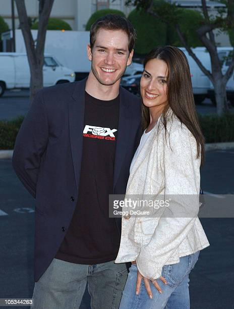 """Mark-Paul Gosselaar and wife Lisa Ann Russell during """"Without A Paddle"""" Los Angeles Premiere - Arrivals at Paramount Studios in Los Angeles,..."""
