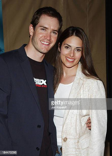 MarkPaul Gosselaar and wife Lisa Ann Russell during Without A Paddle Los Angeles Premiere Arrivals at Paramount Pictures in Los Angeles California...