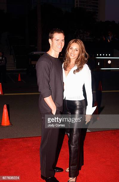 MarkPaul Gosselaar and wife Lisa arrive at the party celebrating the 200th episode of NYPD Blue