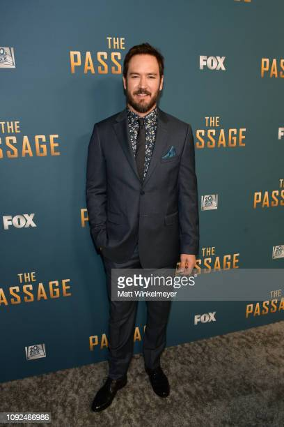 MarkPaul Gosselaar attends Fox's The Passage premiere party at The Broad Stage on January 10 2019 in Santa Monica California