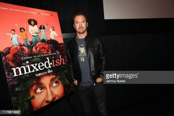 "Mark-Paul Gosselaar attends the ""Mixed-ish"" New York Screening at Regal Battery Park Cinemas on September 19, 2019 in New York City."
