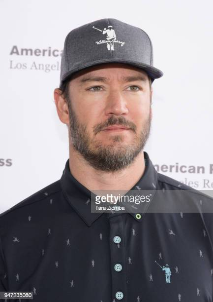 Mark-Paul Gosselaar attends the Red Cross' 5th Annual Celebrity Golf Tournament at Lakeside Golf Club on April 16, 2018 in Burbank, California.