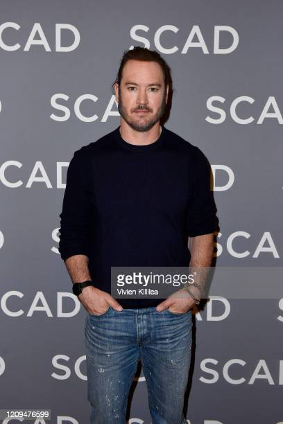 MarkPaul Gosselaar attends the SCAD aTVfest 2020 Mixedish on February 29 2020 in Atlanta Georgia