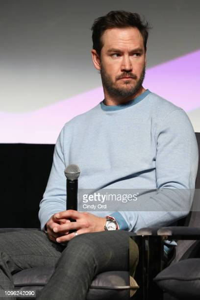 MarkPaul Gosselaar speaks onstage at The Passage screening during SCAD aTVfest 2019 at SCADshow on February 8 2019 in Atlanta Georgia