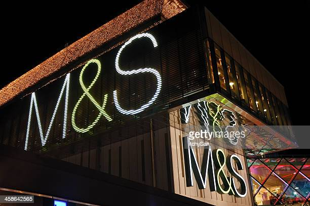 marks & spencer - marks and spencer stock pictures, royalty-free photos & images