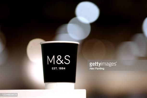 Marks and Spencers reopens it's cafe at Stratford's Westfield Shopping Centre on May 14 2020 in London England The prime minister announced the...