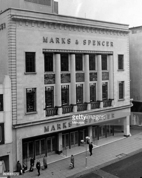 Marks Spencer High Street Birmingham 10th April 1974
