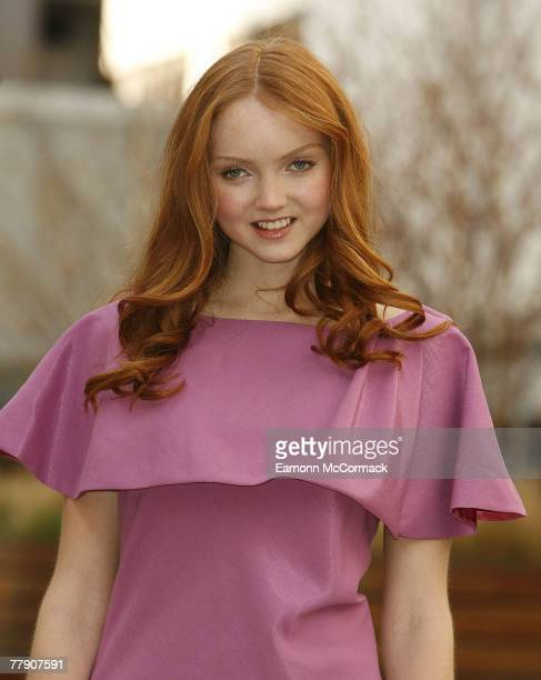 Marks & Spencer Launches Lily Cole as the new face of Limited edition at the University of Westminster on 14 November 2007 in London England.