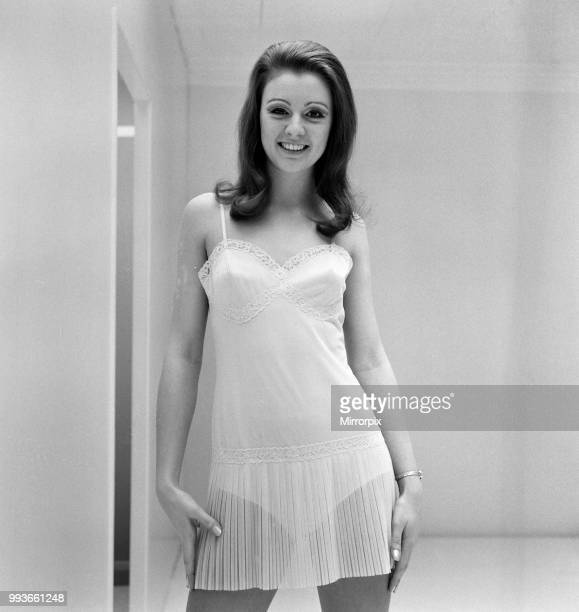 Marks Spencer lingerie export show at Michael House Baker Street 20th March  1969